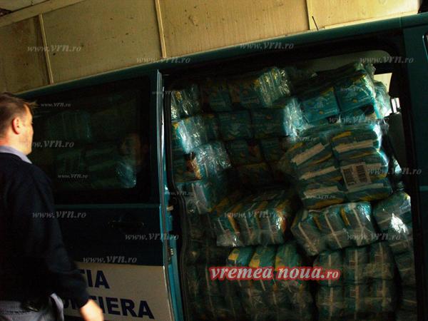 Moldovean prins cu aproape 50.000 de scutece