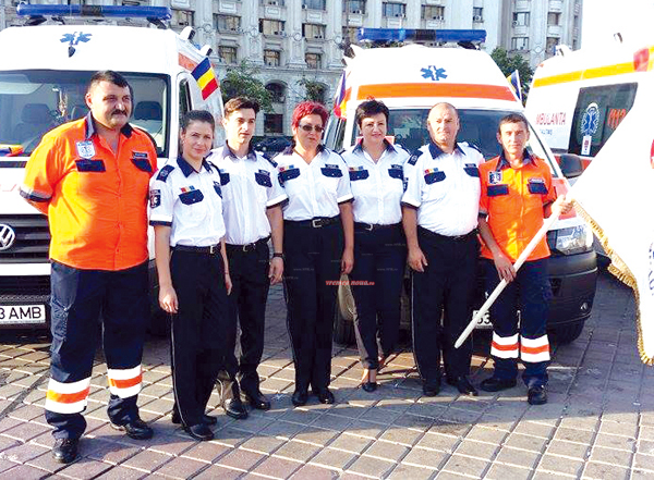 Ambulantierii din Vaslui la Ziua Nationalã a Ambulantei (foto)