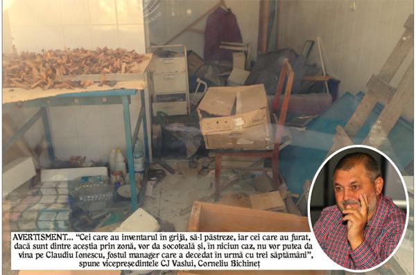 Spitalul din Negresti, devastat de hoti! (foto)