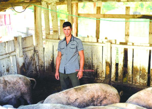 Ferma lui Mihai, un exemplu pentru tinerii care revin în tarã si investesc în agriculturã