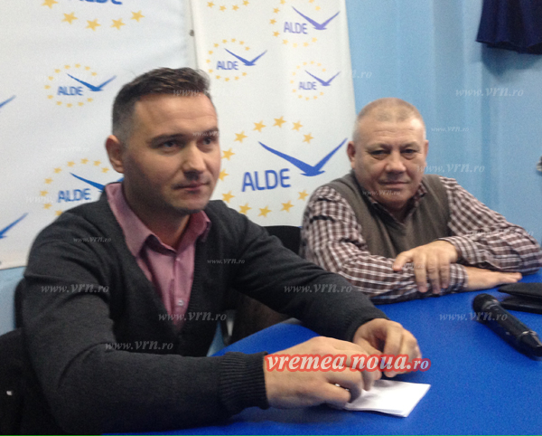 Sorin si Dorin, noii copresedinti ai ALDE Vaslui