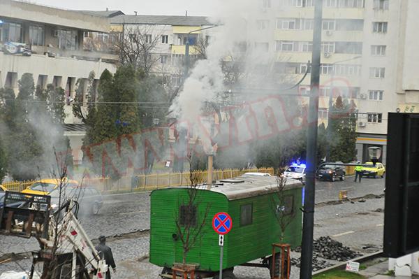 Poza zilei: Furnalul din centrul orasului