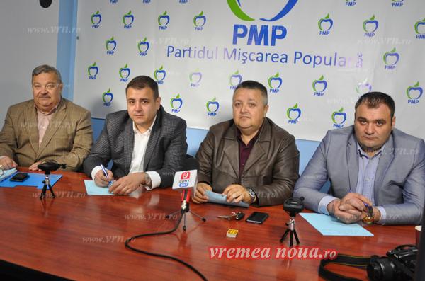 """PMP Vaslui: """"La vremuri noi, alegeti oameni noi"""""""