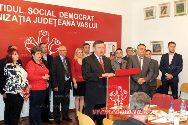 Lista consilierilor locali PSD Vaslui, cea mai reprezentativã pentru viitoarea administratie localã