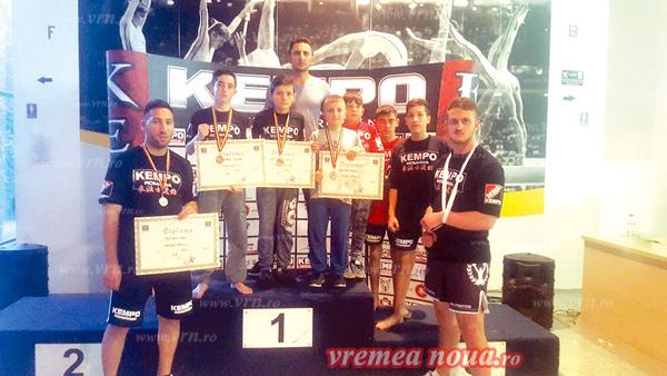 "CS ""Varan"" Vaslui, podium la nationalele de K1"