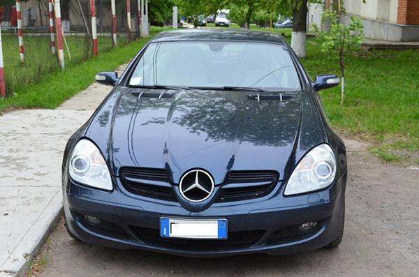 Mercedesuri furate din Italia si Franta, descoperite la Albita