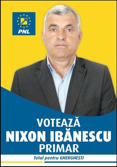 """Nixon Ibãnescu (PNL): """"Totul pentru comuna Gherghesti, totul pentru Vaslui"""" (FOTO, VIDEO)"""