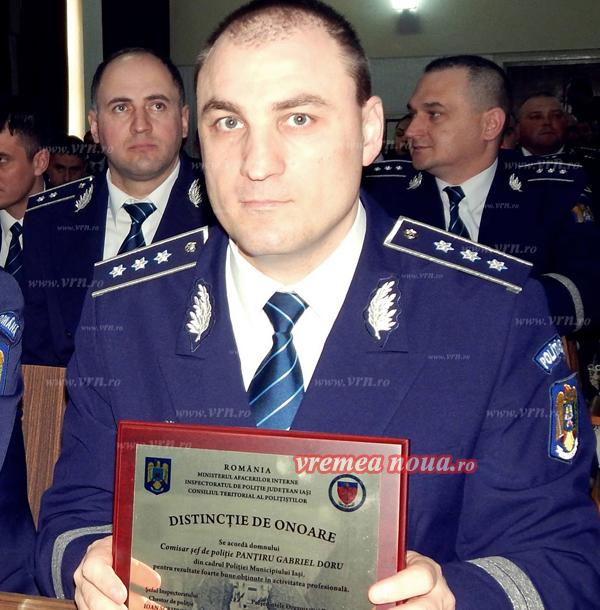 Gabriel Doru Pantâru, noul sef adjunct la IPJ Vaslui