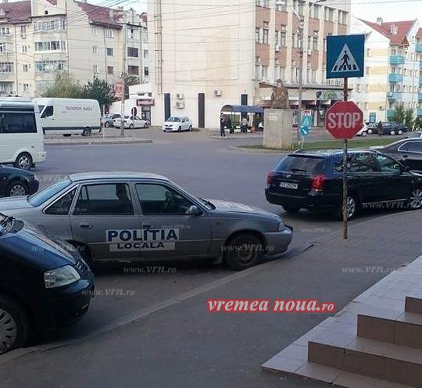 POZA ZILEI: Unde-i lege-i si tocmealã, doar pentru Politia Localã