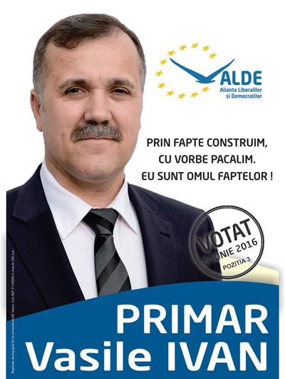 """""""Sorin de la Gelaprod"""", candidatul ALDE care nu face promisiuni desarte"""