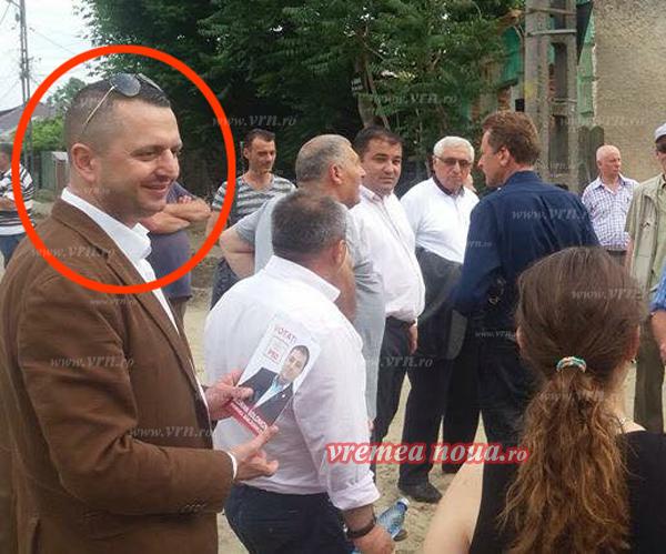 Traian Petcu, preocupat doar de campanie, ignorând complet pesta porcinã