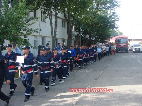 Concursul pompierilor voluntari si-a desemnat câstigãtorii