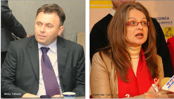 Senatorii Nelu Tãtaru si Gabriela Cretu fac jocul celor care distrug pãdurile românesti