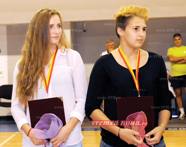 Lorena Ostase si Sonia Vasiliu, în lotul pentru Mondialul de tineret din Rusia
