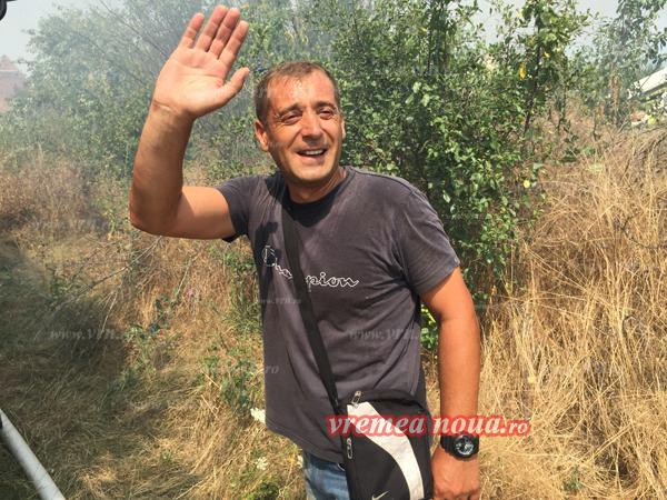 Pompierul erou de la ISU Vaslui (foto, video)