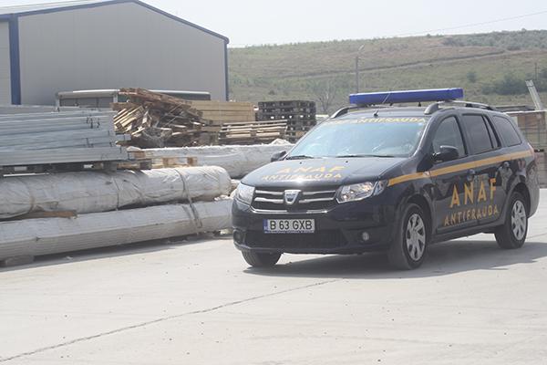 ANAF si ITM au luat cu asalt statiile de betoane din Bârlad (foto)
