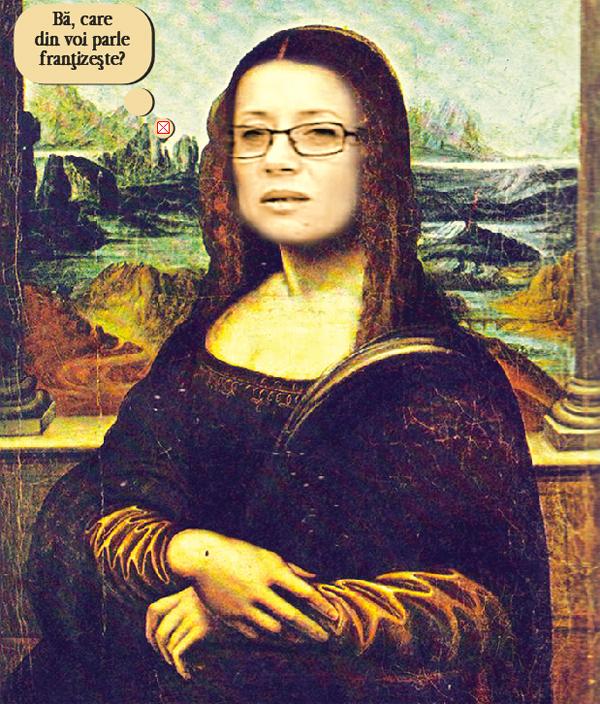 Ramona, Monalisa de la Osesti, în vizitã la Paris (pamflet)