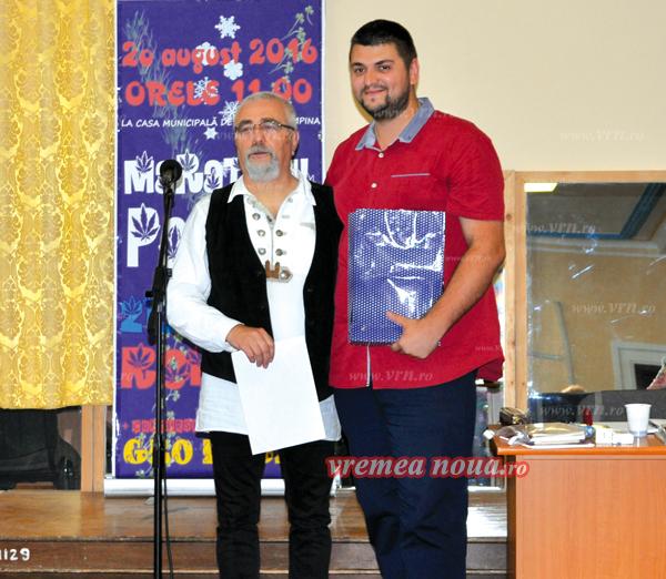 """Cornelius Ioan Drãgan, premiul trei la Concursul National de Literaturã """"Geo Bogza"""""""