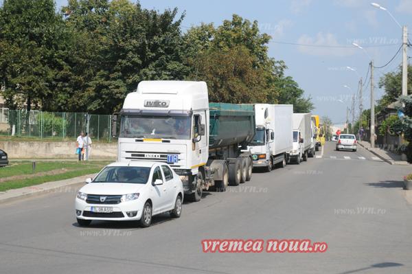 Transportatorii continuã protestele