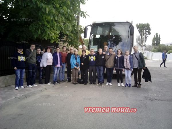 Unionistii din Actiunea 2012 au poposit la Bârlad, în drum spre Chisinãu! (foto)