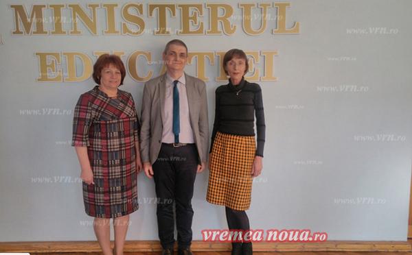 ISJ Vaslui si ministrul Educatiei din Republica Moldova, noi baze ale colaborãrii