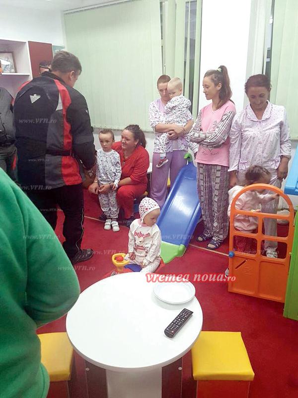 ALINARE: Copiii bolnavi de la SJU au camerã de joacã