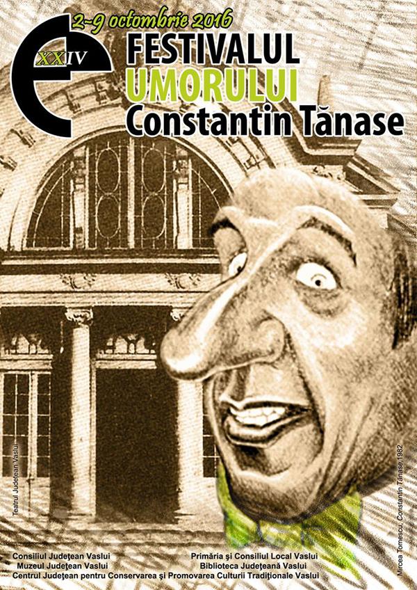 """3, 2, 1… Atentie, începe Festivalul Umorului """"Constantin Tãnase""""!"""