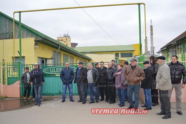 Proteste la Ulerom Vaslui. Oamenii au început sã-l regrete pe Porumboiu
