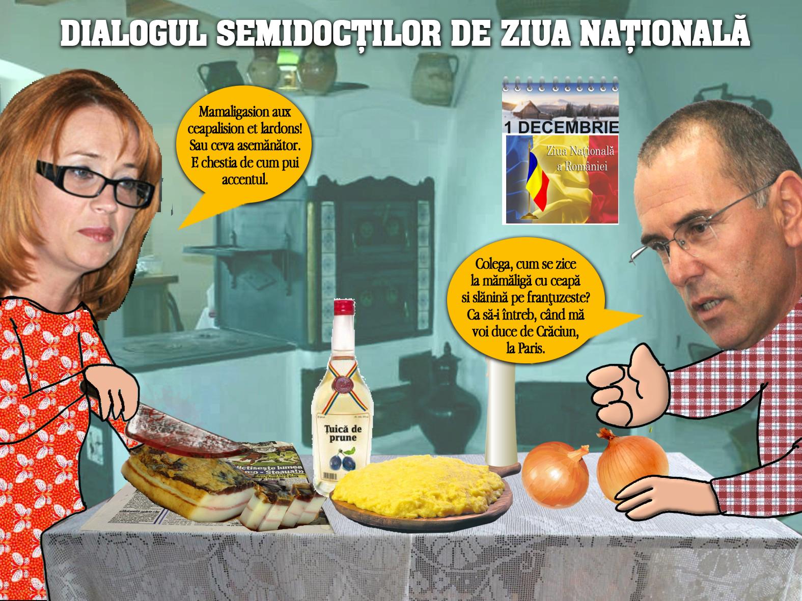 Când popa nu-i acasã, Ramona taie slanina pe masã (pamflet)