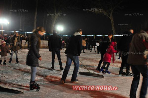 Peste câteva zile, se redeschide patinoarul din parcul Copou