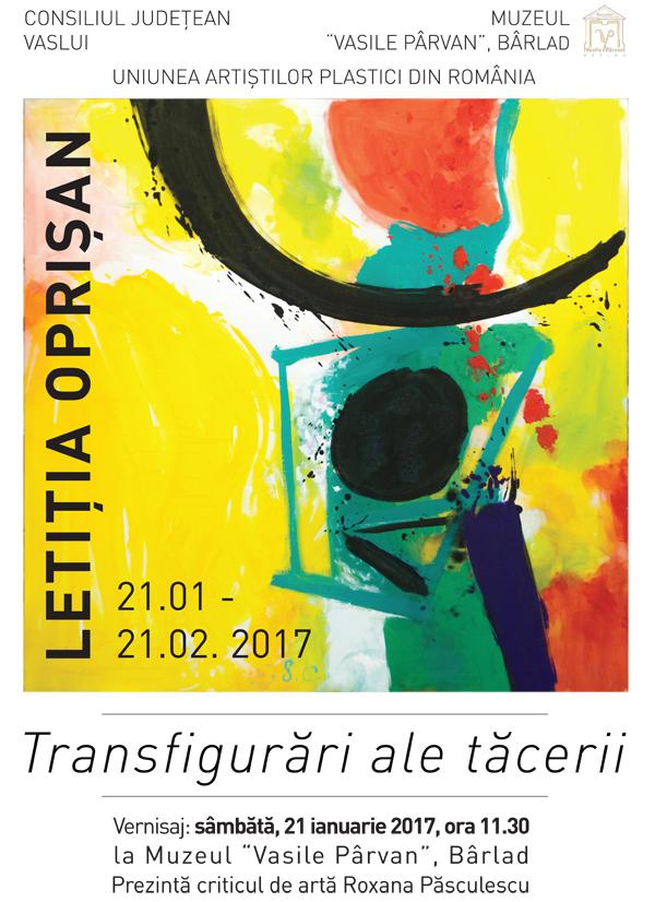 """""""Transfigurãri ale tãcerii"""", la Muzeul """"Vasile Pârvan"""" din Bârlad"""