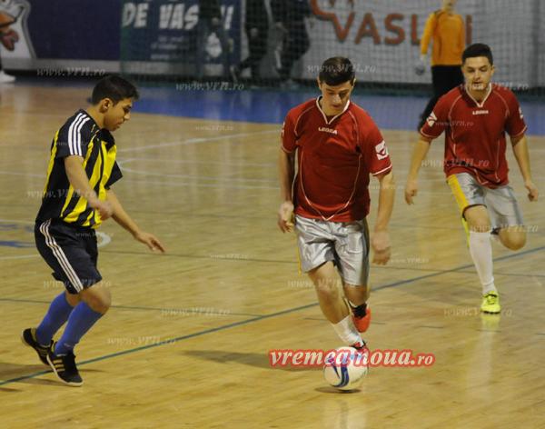 Weekend plin de fotbal la Vaslui