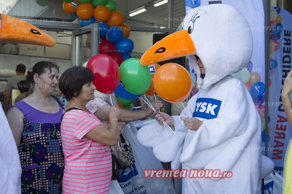 Distractie si oferte speciale la inaugurarea magazinului Jysk din Vaslui