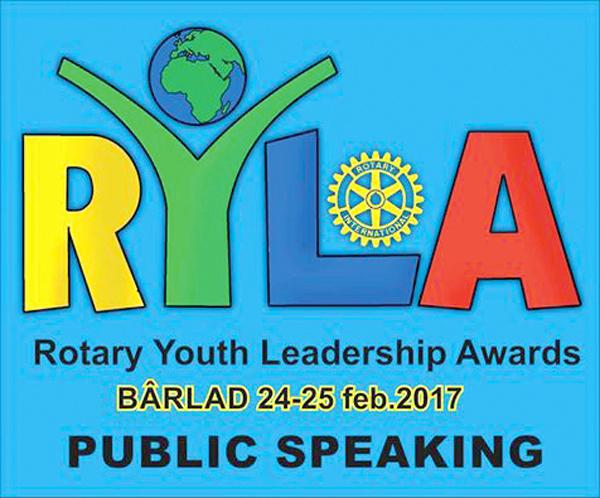 Clubul Rotary Bârlad pregãteste viitorii lideri luminati ai tãrii!