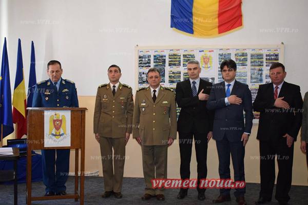 Dan Pintilie, noul sef al Centrului Militar Judetean Vaslui