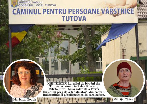 Scandal la Centrul de Bãtrâni din Tutova