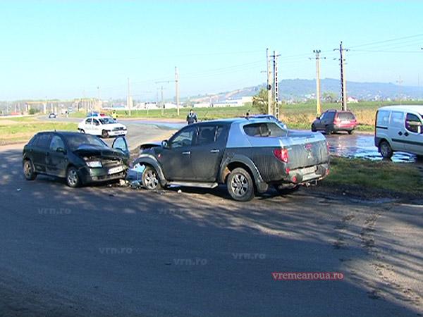 UPDATE: Accident rutier provocat de …soare