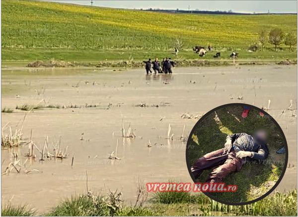 Bãrbat bolnav psihic, gãsit înecat în pârâul Tutova dupã o noapte de cãutãri! (foto)