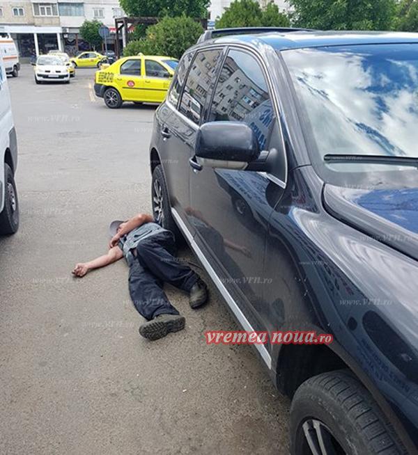 FAZA ZILEI: Un bârlãdean în comã alcoolicã a blocat un autoturism! (VIDEO)