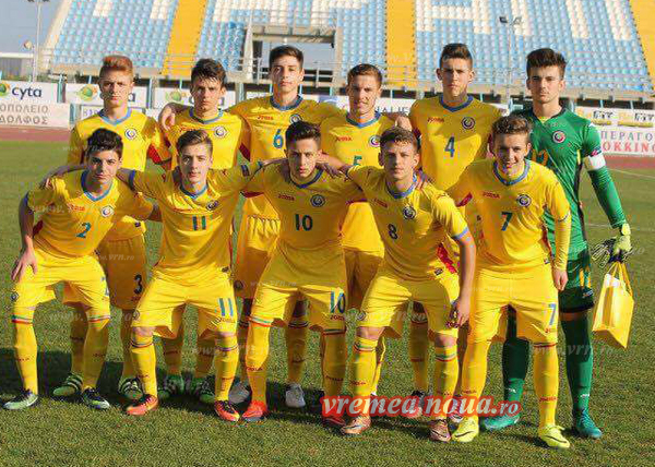 Trei vasluieni la nationala Under 17