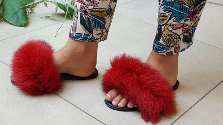 Aceşti papuci cu blăniță sunt la modă acum, însă tot mai multe femei îi poartă fară să ştie că…