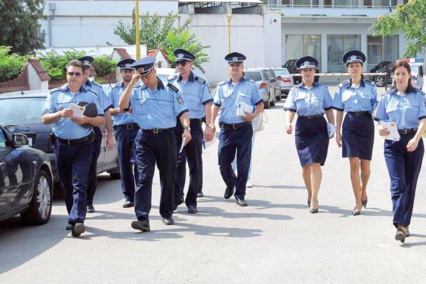 Concurs pentru viitorii politisti