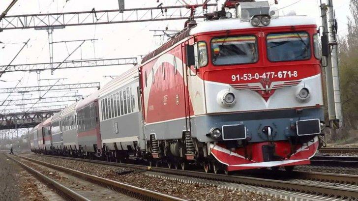 IMPACT NIMICITOR între un autoturism şi un tren cu 120 de pasageri. Traficul feroviar, BLOCAT
