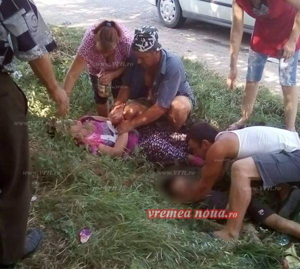 TRAGEDIE LA GRIVITA: COPIL DE 11 ANI, SPULBERAT DE O MASINÃ!! (FOTO, VIDEO)