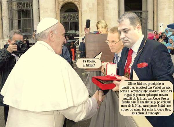 Solomon s-a rugat la Vatican pentru Pidosnicul Corneliu (pamflet)