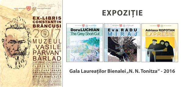 """Dublu eveniment cultural de exceptie la Muzeul """"Vasile Pârvan"""" din Bârlad"""