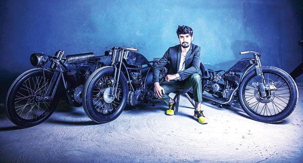 Andrei Hotoleanu, vasluianul designer de motociclete