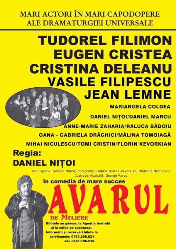 Spectacole de teatru, la Casa de Culturã