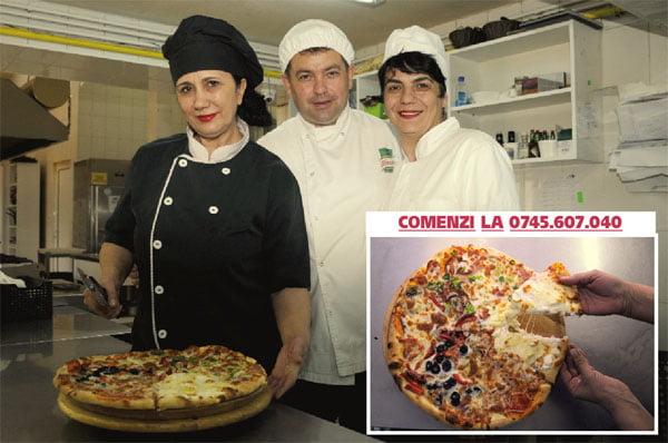 Restaurantul Poienita vrea sã devinã numãrul 1 la livrãri de pizza în Bârlad (foto)