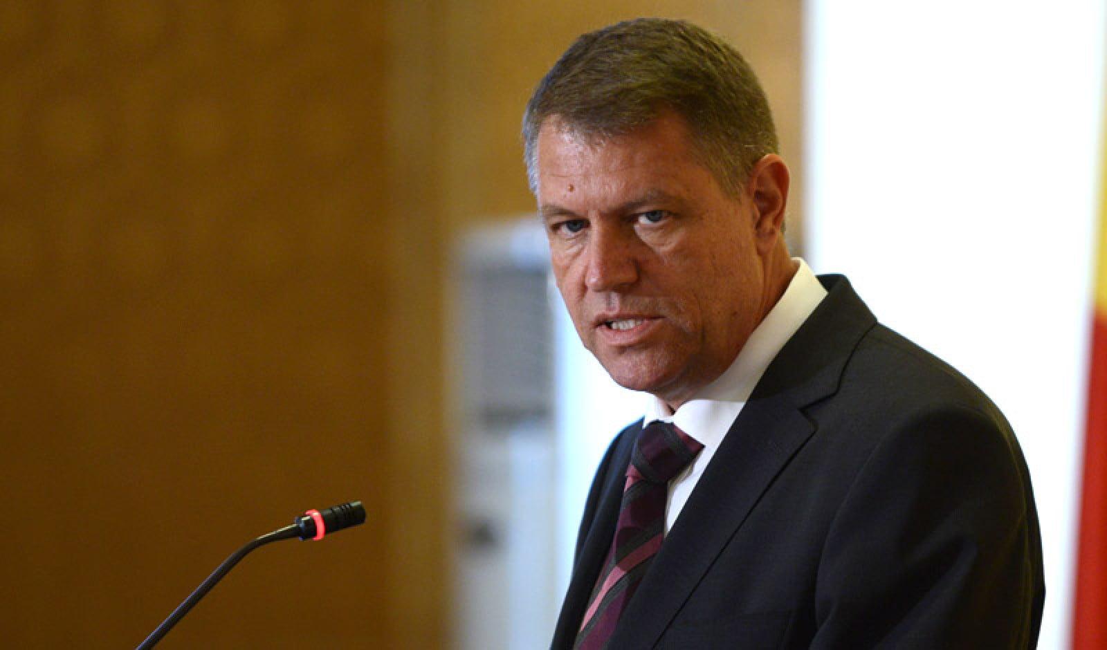 Iohannis: Lipsa unui sistem de avertizare rapidă a populației, factor de risc la adresa siguranței naționale